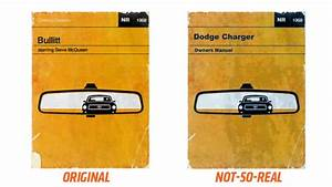 This 1968 Dodge Charger Owner Manual   Funny