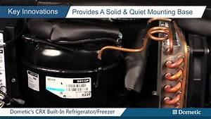 Dometic U0026 39 S Crx Built-in Refrigerator  Freezer