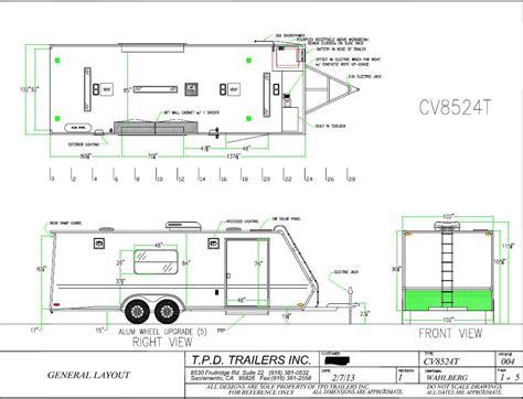 v nose trailer plans fs 2013 tpd vortech enclosed car trailer 24 39 rennlist