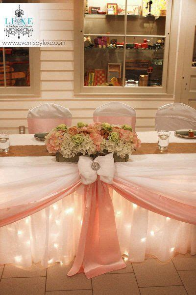 wedding main table decor soft pink and green wedding head table wedding flower box