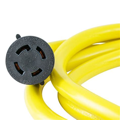 Houseables Generator Cord Electric Extension Wire