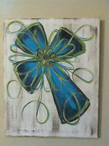 25 best ideas about Cross Canvas Paintings on Pinterest