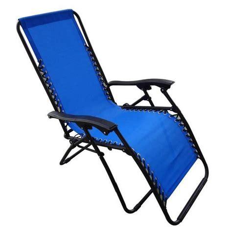 toile chaise longue chaise pliante en toile cing bleu achat vente
