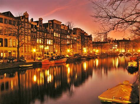 Amsterdam Most Popular And Capital City Of Netherlands