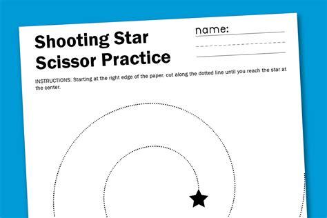shooting scissor worksheet paging supermom