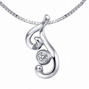 j initial alphabet diamond pendant on 10k white gold With diamond letter j pendant