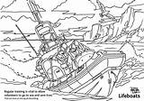 Colouring Lifeboat Sheets Rnli Whitstable sketch template