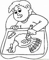 Coloring Drawing Boy Turkey Thanksgiving Draw Printable Bingo Colouring Drawings Turkeys Colorear Para Sheets Coloringpages101 Getdrawings Holidays Dibujo Getcolorings Visitar sketch template