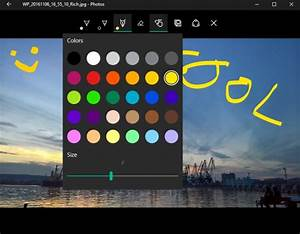 Microsoft Photos Update For Windows 10 Introduces Drawing