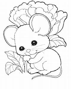 Mouse Coloring Page - AZ Coloring Pages