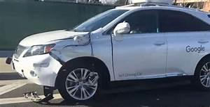 Voiture Autonome Google : la voiture autonome google provoque son premier accident ~ Maxctalentgroup.com Avis de Voitures