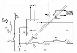 Alternating Relay Switch Circuit Diagram World