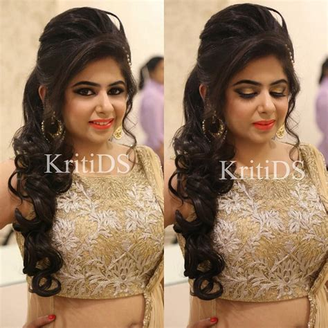 pretty engagement makeup  kritids hairstyles