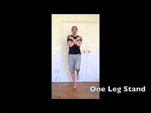 The Balance Doctor - One Leg Stand Test - YouTube