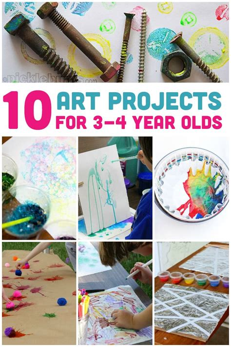 awesome art projects    year olds