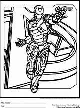 Avengers Coloring Iron Drawing Tampa Bay Printable Coloriage Lightning Surfboard Cartoon Hulk Ginormasource Captain Ironman Comics Stark Tony Dessin Bucs sketch template