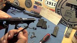 Walther P-38 Frame Disassembly