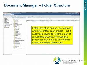 Pcm to unifier migration considerations oracle primavera for Documents folder structure
