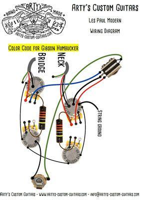 Wiring Harness Les Paul Woman Tone Arty Custom Guitars
