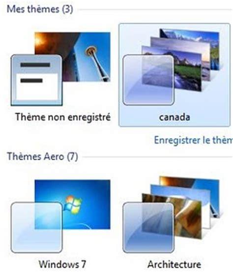 theme de bureau windows 7 comment trouver et activer les thèmes cachés du bureau de