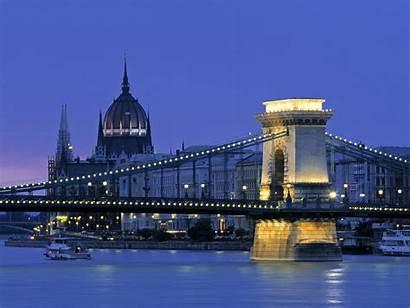Wallpapers Europe Budapest Hungary European Background Bridge