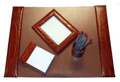 leather desk blotter canada reptile grain leather desk blotter set