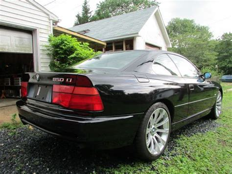 auto body repair training 1993 bmw 8 series electronic valve timing purchase used 1993 bmw 850ci v12 5 0l auto coupe m5 wheels 8 series no reserve 850 840 m6 csi
