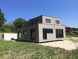 Maison Modulaire Bois : conception maison modulaire ossature bois archinicoletti ~ Melissatoandfro.com Idées de Décoration