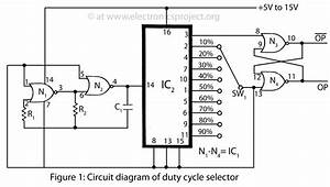 gt circuits gt duty cycle selector l26307 nextgr With differential analog switch circuit diagram