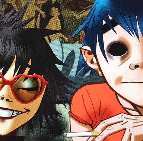 Anime Wallpaper 2d - hewlett noodle gorillaz 2d wallpapers hd