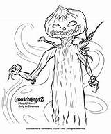 Goosebumps Coloring Pages Sheets Halloween Slappy Monster Printable Colouring Scary Craft Books Colors Chilling Education Special Wrapping Stuff Goosbumps Discover sketch template