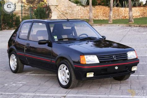 Peugeot 205 For Sale by Classic 1988 Peugeot 205 Gti Hatchback For Sale 3432 Dyler