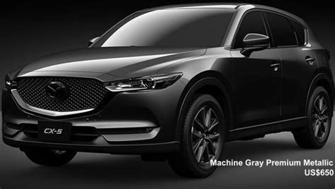 New Mazda CX5 Body colors, Full variation of exterior