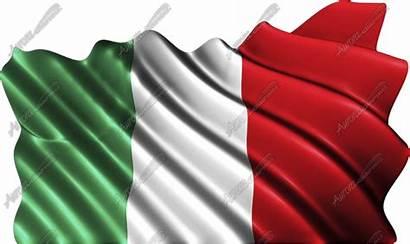 Flag Italian Waving Aurora