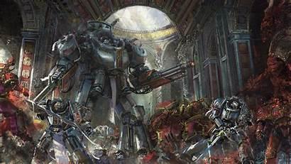 40k Concept Space Dreadknight Chaos Deviantart Warhammer