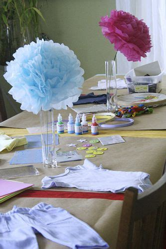 Baby Shower Table Centerpieces Ideas   Ohio Trm Furniture