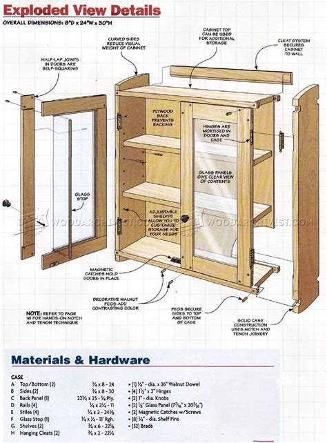 wall tool cabinet plans workshop solutions