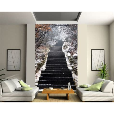 stickers muraux geant trompe l oeil sticker mural g 233 ant trompe l oeil escalier d 233 co stickers