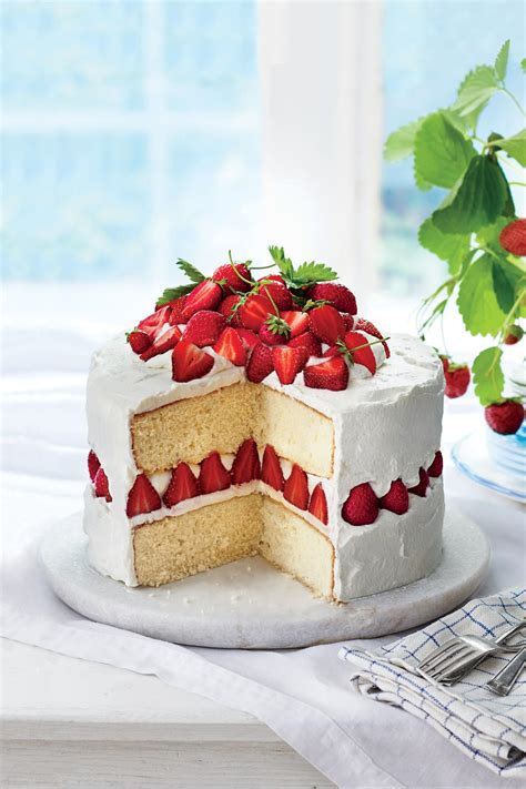 secrets to our best strawberry lemon layer cake southern living