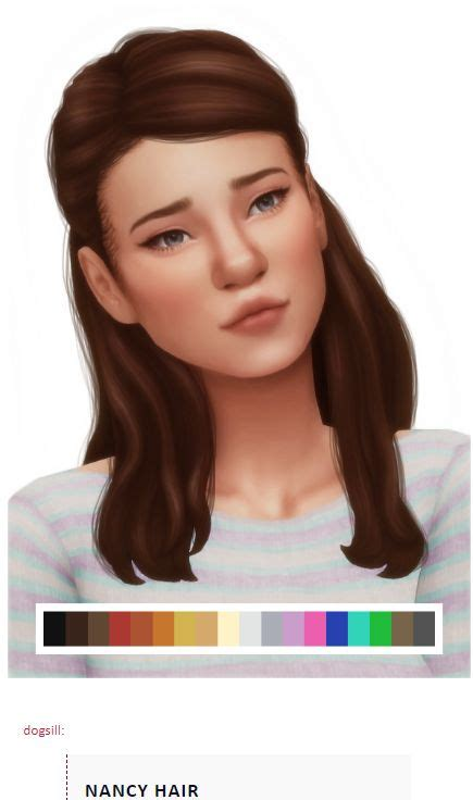 The sims 4 community library is licensed under the creative commons attribution 4.0 international public license (cc by 4.0). Source: Tumblr   Female Hair   half up   long   BGC   Sims 4   TS4   Maxis Match   MM   CC   Pin ...