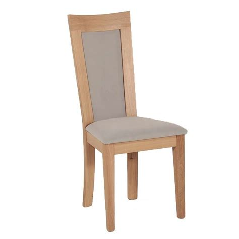 image chaise chaise en bois et tissu rembourré crocus 4 pieds