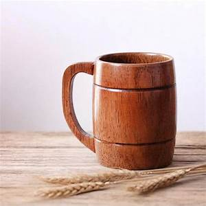 Buy, Natural, Wooden, Drinkware, Mugs, Online, In, India