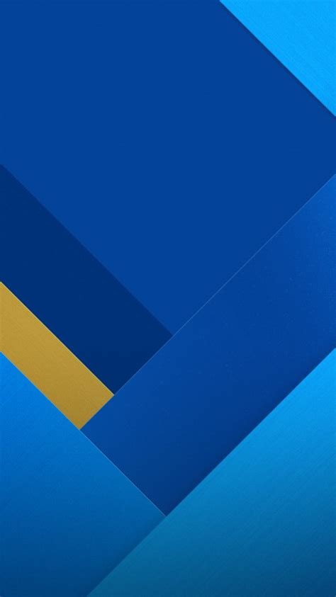 wallpaper geometric material design stock blue hd