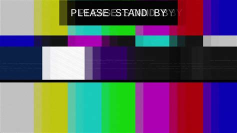 color bars tv smpte color bars tv stand by distorted tv