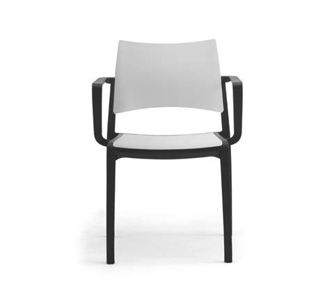 stackable plastic chairs with arms for contract indoor