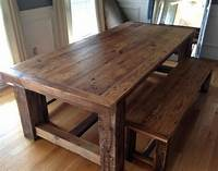 barn wood tables How to build Wood Kitchen Table Plans PDF woodworking ...