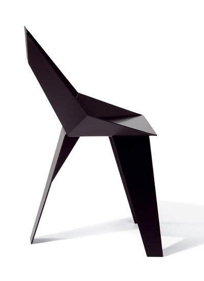 chaise e 50 axiome chair in black aluminium powder coated size 85