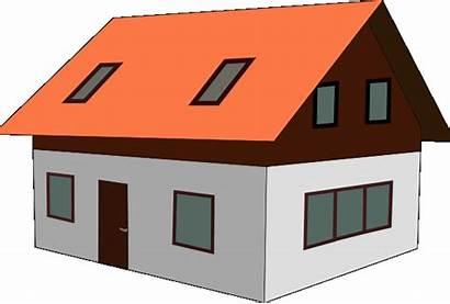 Clip Clipart Homes Cliparts Houses Graphics Estate