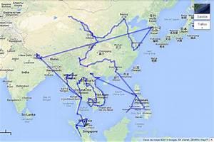 ruta por asia Viaje solo ida