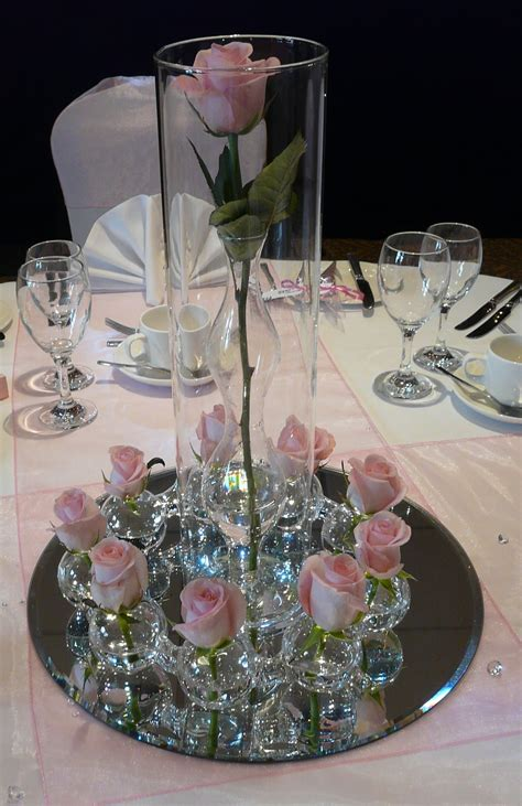 table centrepieces romantic decoration
